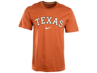 Texas Longhorns Nike NCAA Wordmark Cotton T-Shirt