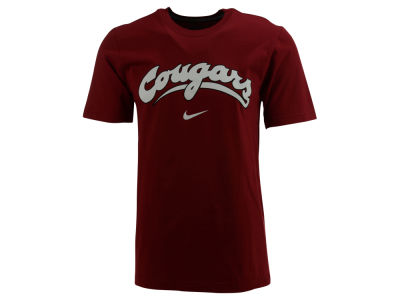Washington State Cougars Nike NCAA Wordmark Cotton T-Shirt
