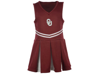 Oklahoma Sooners NCAA Toddler Cheer Dress