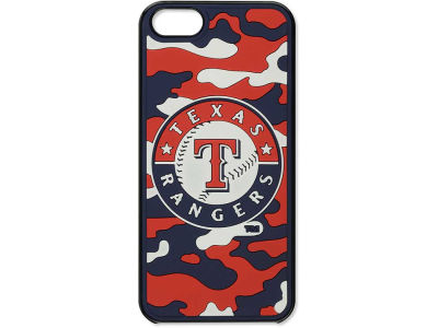 Texas Rangers iPhone SE Case Silicone Camo