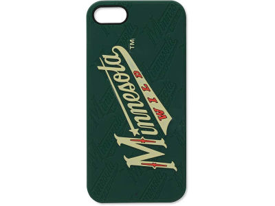 Minnesota Wild iPhone SE Case Silicone Logo