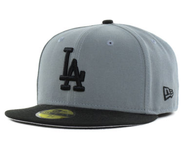 Los Angeles Dodgers New Era MLB FC Gray Black 59FIFTY Cap