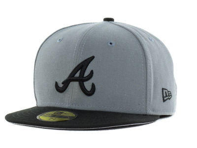 Atlanta Braves New Era MLB FC Gray Black 59FIFTY Cap