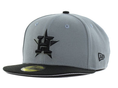 Houston Astros New Era MLB FC Gray Black 59FIFTY Cap