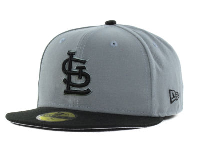 St. Louis Cardinals New Era MLB FC Gray Black 59FIFTY Cap
