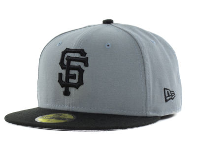 San Francisco Giants New Era MLB FC Gray Black 59FIFTY Cap