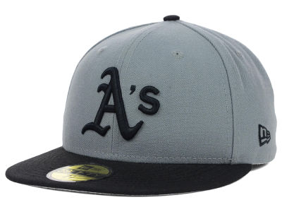 Oakland Athletics New Era MLB FC Gray Black 59FIFTY Cap