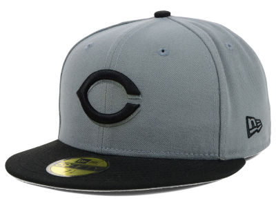 Cincinnati Reds New Era MLB FC Gray Black 59FIFTY Cap