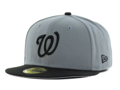 Washington Nationals New Era MLB FC Gray Black 59FIFTY Cap