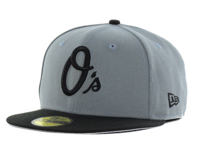 Baltimore Orioles New Era MLB FC Gray Black 59FIFTY Cap