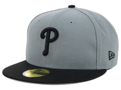 Philadelphia Phillies New Era MLB FC Gray Black 59FIFTY Cap