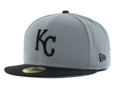 Kansas City Royals New Era MLB FC Gray Black 59FIFTY Cap
