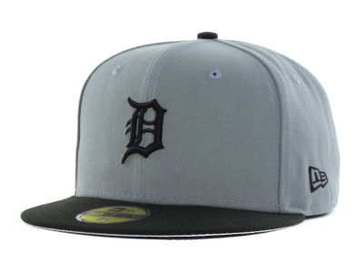 Detroit Tigers New Era MLB FC Gray Black 59FIFTY Cap