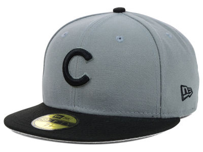 Chicago Cubs New Era MLB FC Gray Black 59FIFTY Cap