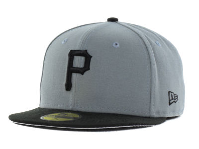 Pittsburgh Pirates New Era MLB FC Gray Black 59FIFTY Cap