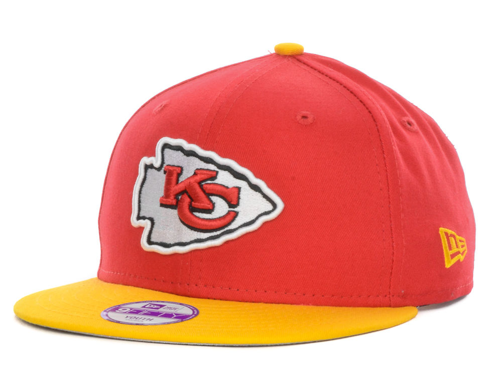 Kansas City Chiefs New Era NFL Kids Baycik 9FIFTY Snapback Cap ... 9c7f279c8