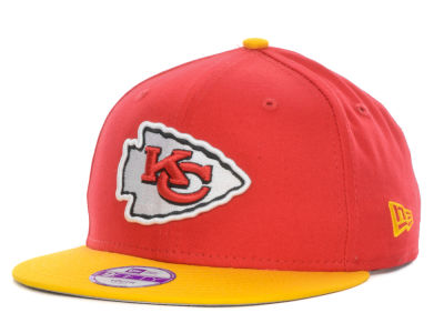 Kansas City Chiefs New Era NFL Kids Baycik 9FIFTY Snapback Cap