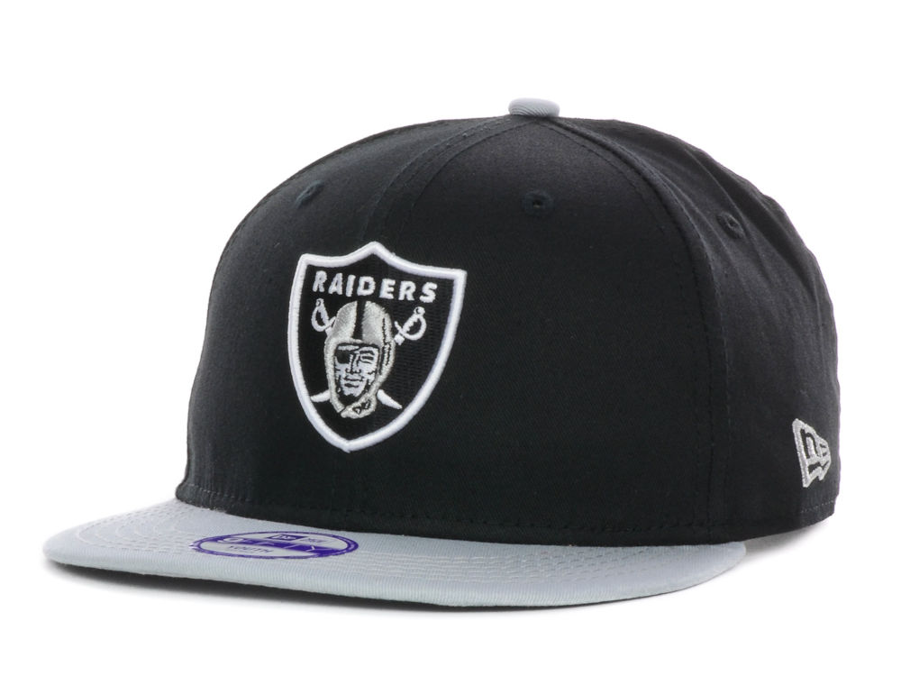 Oakland Raiders New Era NFL Kids Baycik 9FIFTY Snapback Cap  15cf5d21b