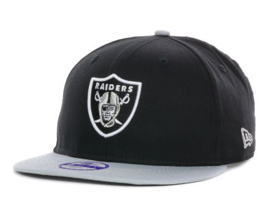Oakland Raiders New Era NFL Kids Baycik 9FIFTY Snapback Cap