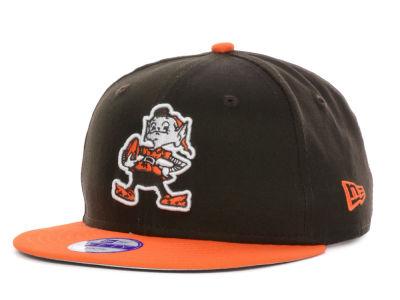 Cleveland Browns New Era NFL Kids Baycik 9FIFTY Snapback Cap