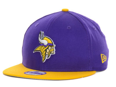 Minnesota Vikings New Era NFL Kids Baycik 9FIFTY Snapback Cap