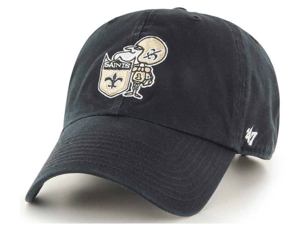 hot sale good texture factory authentic New Orleans Saints '47 NFL '47 CLEAN UP Cap | lids.ca