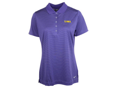 LSU Tigers Nike NCAA Womens Tech Stripe Polo