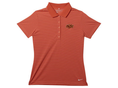 Oklahoma State Cowboys Nike NCAA Womens Tech Stripe Polo