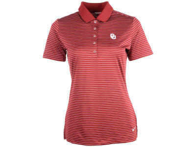 Oklahoma Sooners Nike NCAA Womens Tech Stripe Polo