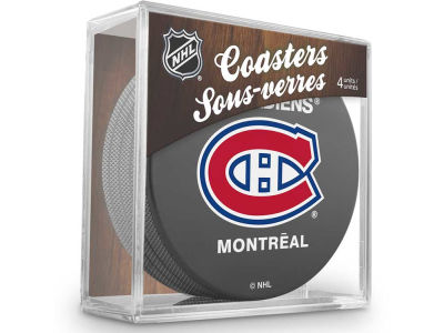 Montreal Canadiens Puck Coasters