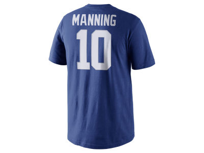 New York Giants Eli Manning Nike NFL Men's Pride Name and Number T-Shirt