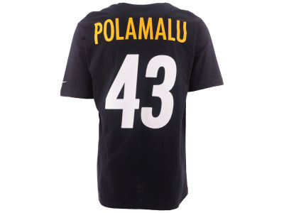 Pittsburgh Steelers Troy Polamalu Nike NFL Pride Name and Number T-Shirt