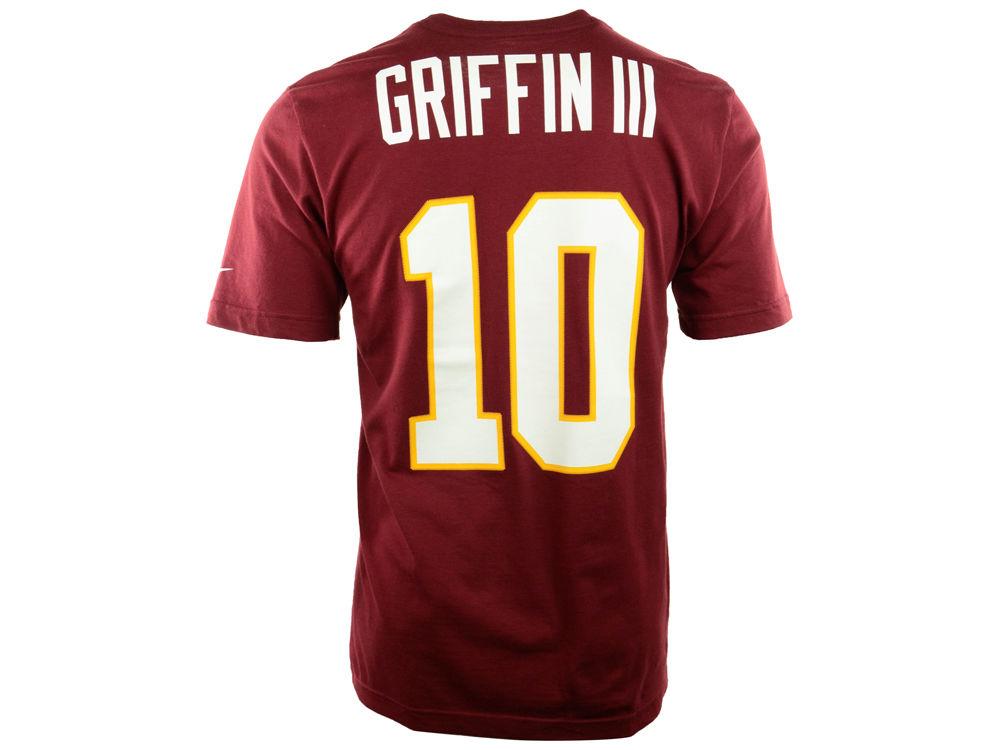d90170edf Washington Redskins Robert Griffin III Nike NFL Men s Pride Name and Number  T-Shirt