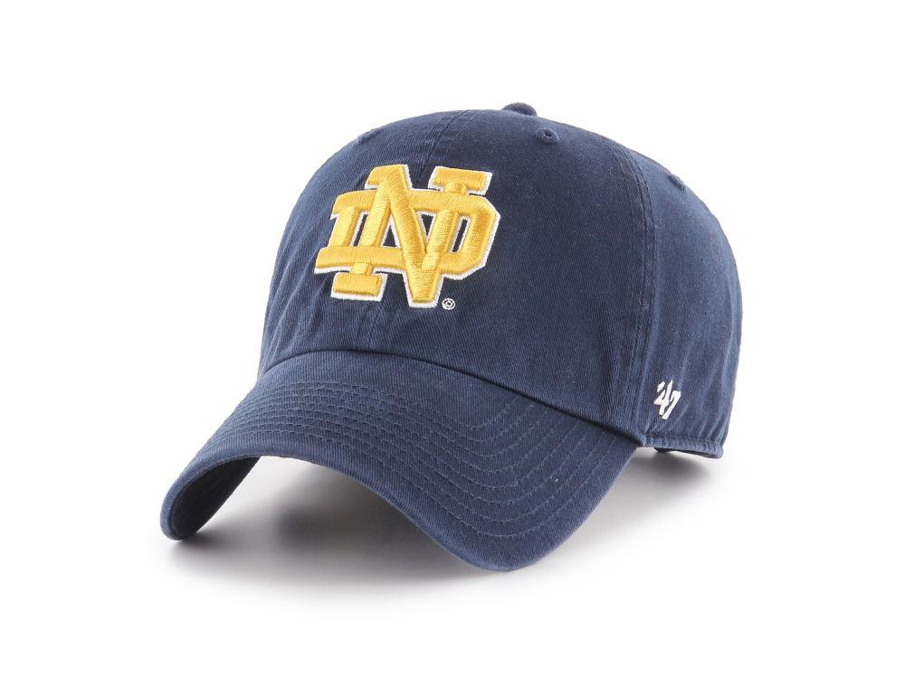 Notre Dame Fighting Irish  47 NCAA  47 CLEAN UP Cap  d3a7365f8d4d