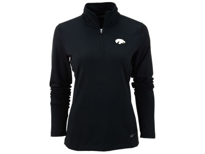 Iowa Hawkeyes Nike NCAA Womens Half Zip Key Cover-up Pullover