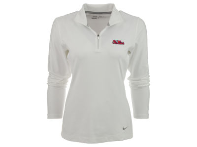 Ole Miss Rebels Nike NCAA Womens Half Zip Key Cover-up Pullover