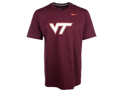 Virginia Tech Hokies Nike NCAA Warp Logo T-Shirt