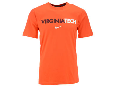 Virginia Tech Hokies Nike NCAA Men's Wordmark Cotton T-Shirt