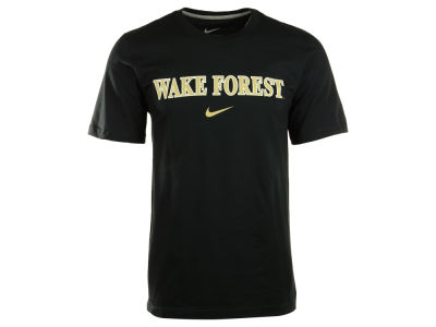 Wake Forest Demon Deacons Nike NCAA Wordmark Cotton T-Shirt