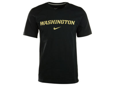 Washington Huskies Nike NCAA Wordmark Cotton T-Shirt