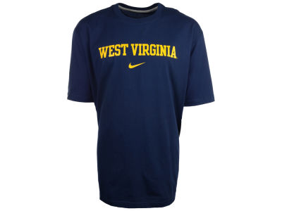 West Virginia Mountaineers Nike NCAA Wordmark Cotton T-Shirt