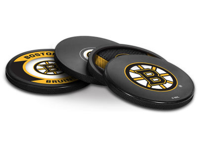 Boston Bruins Puck Coasters