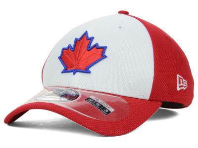 Toronto Blue Jays New Era MLB Diamond Era White Front 39THIRTY Cap