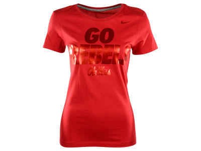 Ole Miss Rebels Nike NCAA Women's Local Mid V-Neck T-Shirt