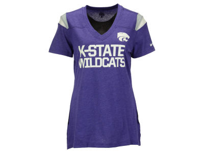 Kansas State Wildcats Nike NCAA Women's Fan V-Neck T-Shirt