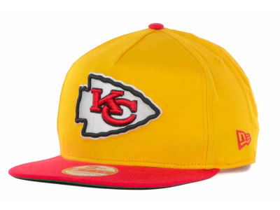 Kansas City Chiefs New Era NFL Team Flip Up A-Frame 9FIFTY Snapback Cap