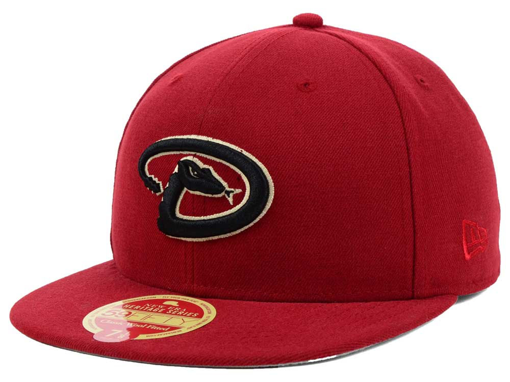 5d2b989166b Arizona Diamondbacks New Era MLB Wool Classic 59FIFTY Cap
