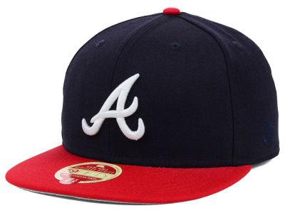 Atlanta Braves New Era MLB Wool Classic 59FIFTY Cap