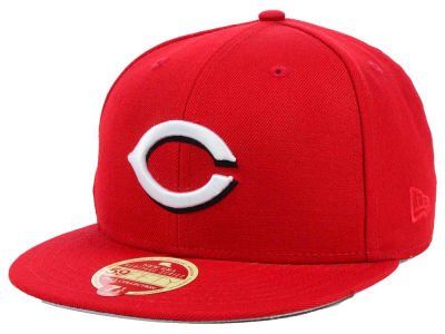 Cincinnati Reds New Era MLB Wool Classic 59FIFTY Cap