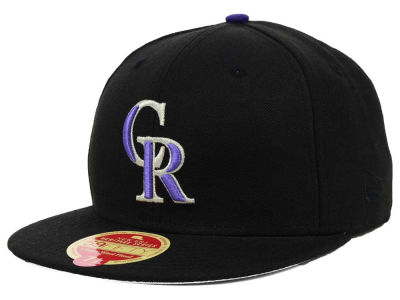 Colorado Rockies New Era MLB Wool Classic 59FIFTY Cap